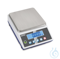 Precision balance, 0,1 g ; 6 kg PRE-TARE function for manual subtraction of a...