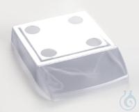 Arbeitsschutzhaube für Wägepplatte 130 x 130 mm Arbeitsschutzhaube für...