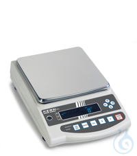 Precision balance with type approval, class II, 0,01 g ; 4200 g KERN PEJ:...