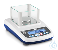 Precision balance, Max 200 g; d=0,001 g Easy to use: All primary functions...