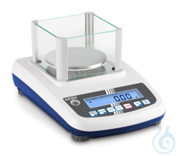 Precision balance Max 600 g: d=0,01 g Easy to use: All primary functions have...