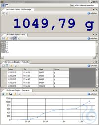 PC-Software Balance Connection 4.0, D, auf DVD, für die direkte Übertragung...