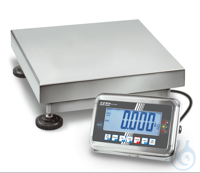 Industrial balance - stainless steel, Max 150 kg; e=0,05 kg; d=0,05 kg...