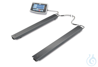 Weighing beams, Max 3000 kg; d=1 kg Flexible solution for weighing large,...