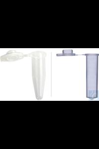Abdos Reaktionsgefässe mit sicherem Verschluss 0.5 ml , Low Retention, VE= 1000