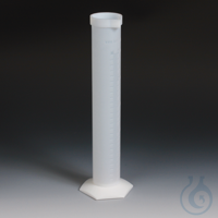 Measuring Cylinders PTFE/TFM Translucent and non-porous. Design based on ISO 478 Measuring...
