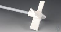 Propeller-Rührwellen, vierflüglig PTFE Mit PTFE überzogene Edelstahlwelle, Prope...