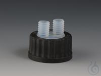 Multiple Distributors for Bottles PFA/PPS Black screw cap made of PPS for bottle Multiple...