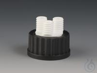 Multiple Distributors for Bottles PTFE/PPS Black screw cap made of PPS for bottl Multiple...