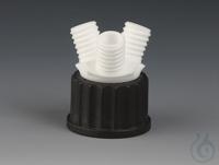 Multiple Distributors for Bottles PTFE/PPS Black screw cap made of PPS for threa Multiple...