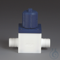 GL Control Valves PTFE/PPS Two-way valve with straight bore and two connections  GL Control...