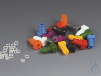 Assortments of Tube End Fittings PP Tube end fittings made of PP in 9 different  Assortments of...