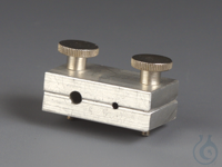 """Tube holders AL For tubing with O.D. 1,6 mm (1/16"""") and 3,2 mm (1/8""""). Tube..."""