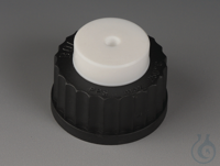 Chromatography Adapters PTFE/PPS Black screw cap made of PPS with GL thread. Bod Chromatography...