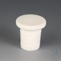 Stoppers PTFE Made of PTFE, with ground joint and sealing rings on the outside k Stoppers Made of...
