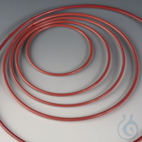 5Artikelen als: O-Rings for Laboratory Flat Flanges FEP/Silicone Silicone core with seamless...