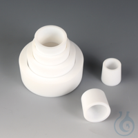 Ground Joint Reducing Set PTFE Made of PTFE, consisting of reducing rings...