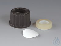 5Artikelen als: Set for Pressure Compensation PTFE/Silicone/PPS Consisting of screw cap made...
