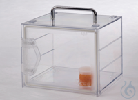 Mini Desiccator Mobile Basic PC Polycarbonate, with practical handle, including  Mini Desiccator...