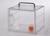 Mini Mobil Basic Exsikkator PC Polycarbonat, mit handlichem Tragegriff, inklusiv Mini Mobil Basic...