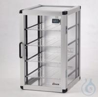 Auto-Star-Desiccator PMMA/AL Aluminium frame with panels made of acrylic glass,...