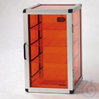 Star-Desiccator Protect PMMA/AL Aluminium frame, orange panels made of acrylic g Star-Desiccator...