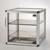 Big-Star-Exsikkator PMMA/AL Aluminiumrahmen mit Scheiben aus Acrylglas, inklusiv...