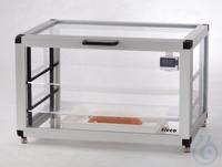 Star-Desiccator Horizontal PMMA/AL Aluminium frame with panels made of acrylic g