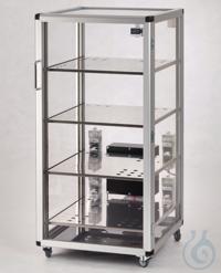 Auto-Maxi 1-Desiccator PMMA/AL Aluminium frame with panels made of acrylic...