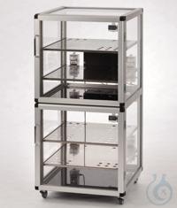 Auto-Maxi 2-Desiccator PMMA/AL Aluminium frame with panels made of acrylic...