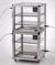 Super-Maxi 2-Exsikkator PMMA/AL Aluminiumrahmen mit Scheiben aus Acrylglas, zwei Super-Maxi...