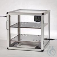 Super-Big-Star-Desiccators PMMA/AL Aluminium frame with panels made of...