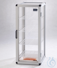 Tower-Star-Desiccator PMMA/AL Aluminium frame with panels made of acrylic glass,