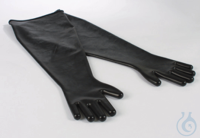 Handschuhe Antistatik EPDM Beidseitig tragbar geeignet für Öffnungen von Ø 190 m Handschuhe...