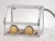 Glove Box PMMA/AL Aluminium frame with panels made of acrylic glass, base...