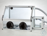 Glove Box Antistatic with Transfer Chamber PC/AL Aluminium frame with static dis Glove Box...