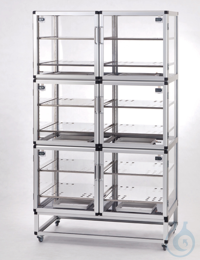 Desiccator Wall PMMA/AL Aluminium frame with panels made of acrylic glass,...