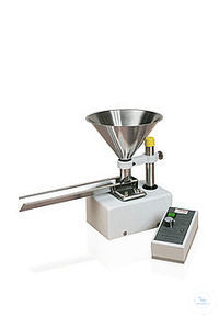 Vibratory Feeder LABORETTE 24   For slow, measured feeding to achieve a uniform, wide sample...