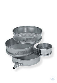 67Articles like: test sieve 200/50 mm mesh = 8 mm ISO 3310-1 Test sieve 200 mm dia., 50 mm...