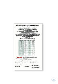 inspection certificate for sieves 3.1B EN 10204 calibration certificate 3.1 EN 10204 for...