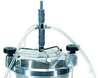 clamping lid 100 mm with 1 nozzle with 1 nozzles for wet sieving with test sieves 100 mm dia....