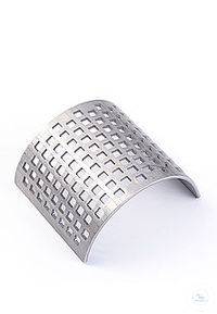 sieve insert P-15 4 mm square perf., chromium-free steel Sieve inserts determine the final...