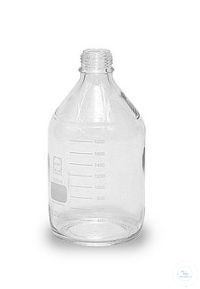 sample glass 2 litres wide mouth bottle GL 80 Is recommended, if a larger...