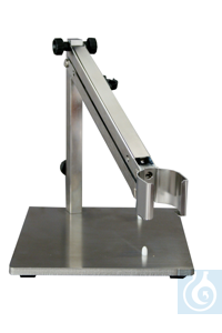ST-P 01/200 Stainless steel joint stand (gas spring) with two rivet plugs for...
