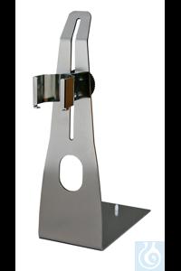 ST-P 15/320 Edelstahl Plattenstativ mit höhenverstellbaren Halter zur...
