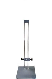ST-P 20/600 Plate stand with two rod design. Boss head for drive unit can not...