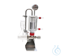 Circ.System MT 3100 S2 / 0.4L  - with double wall glass vessel, bottom outlet...