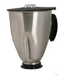 MBA 4000 Edelstahl Mixbecher mit 4000 ml Arbeitsvolumen inkl. Messerkopf und...