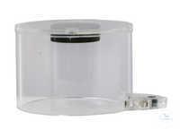 MBH 125 Safety hut for MBA 125 of polymethylmethacrylate, transparent.Total...