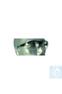 Schutzbrille, Bügelfarbe mint